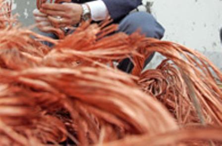 Oro Rosso. Agrigento: 4000 Kg di rame rubato in C.da S. Benedetto