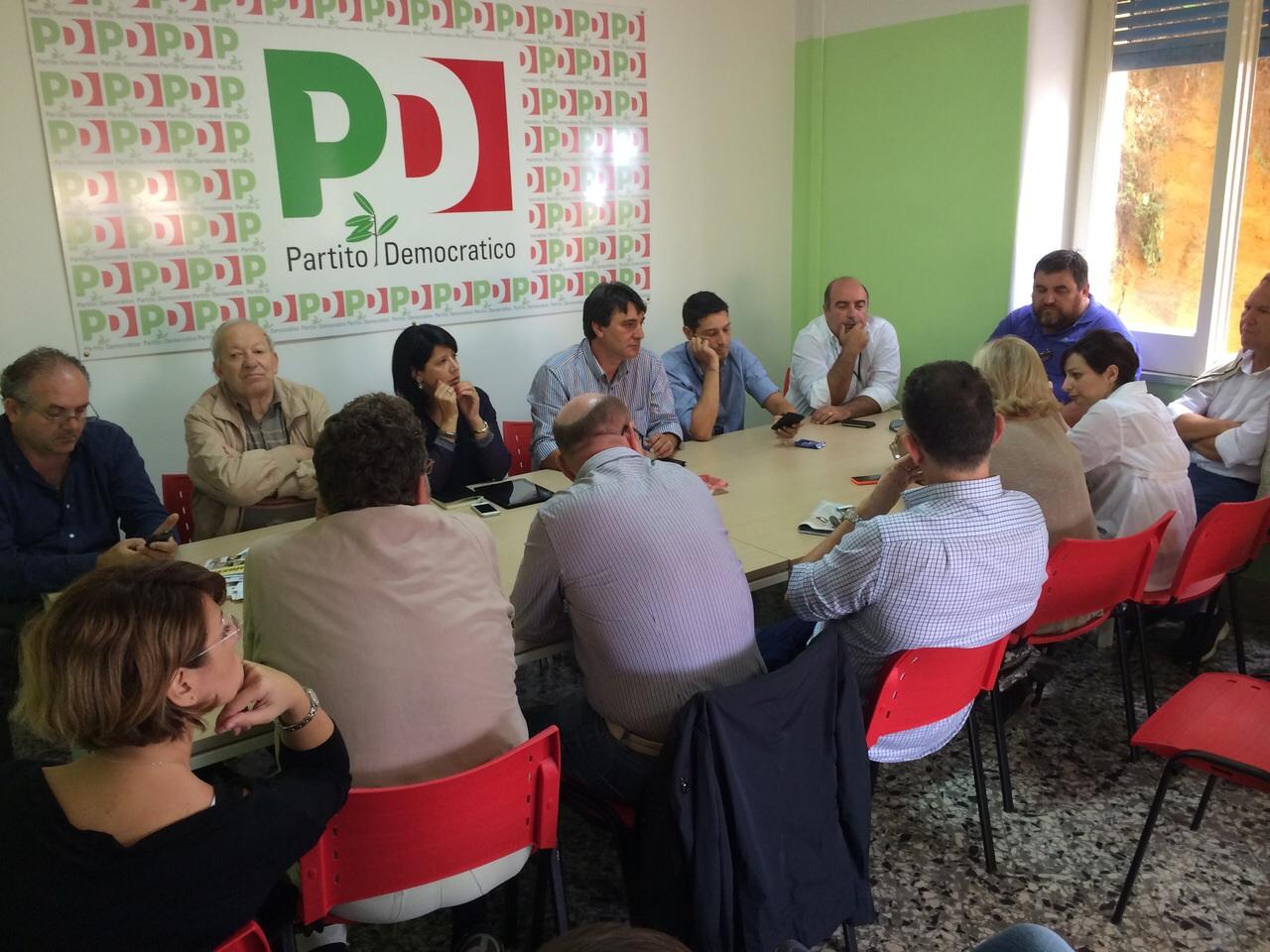 Riunione PD per le elezioni amministrative 2015