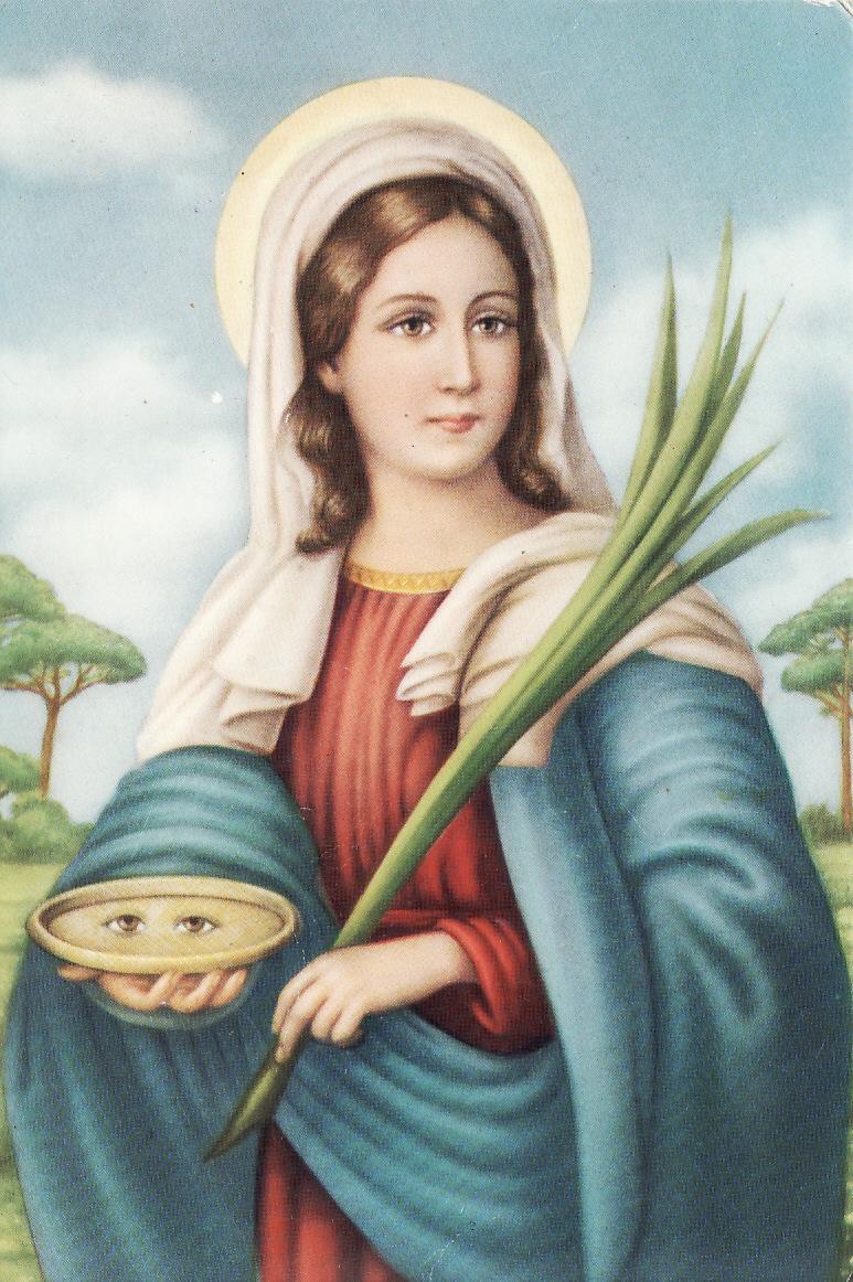 Celebrazioni ad Agrigento in onore di S. Lucia