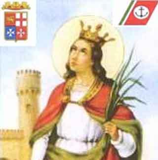 Porto Empedocle, 4 dicembre 2014 – Celebrazione della festività di S. Barbara, patrona di marinai, vigili del fuoco e minatori