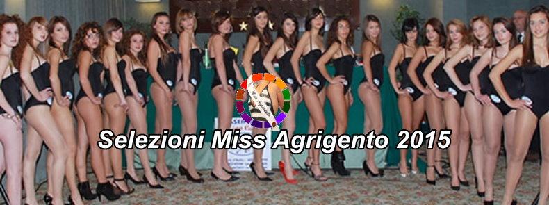 CONCORSO MISS AGRIGENTO 2015