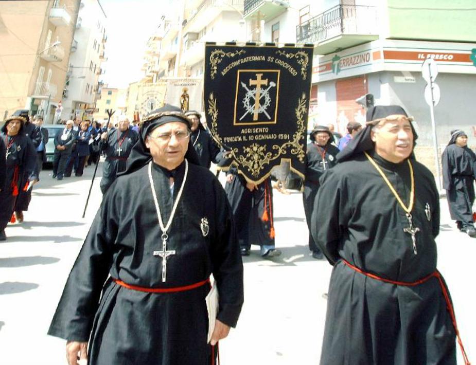 Agrigento, l'Arciconfraternita del Santissimo crocifisso compie 424 anni