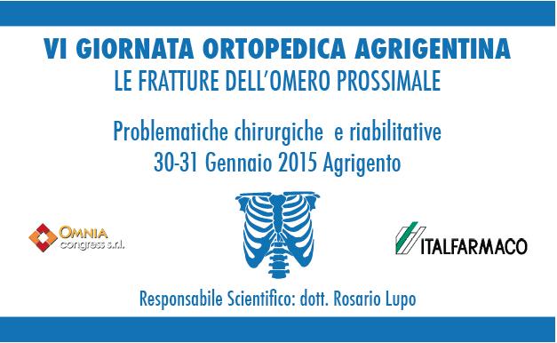 VI Giornata Ortopedica Agrigentina
