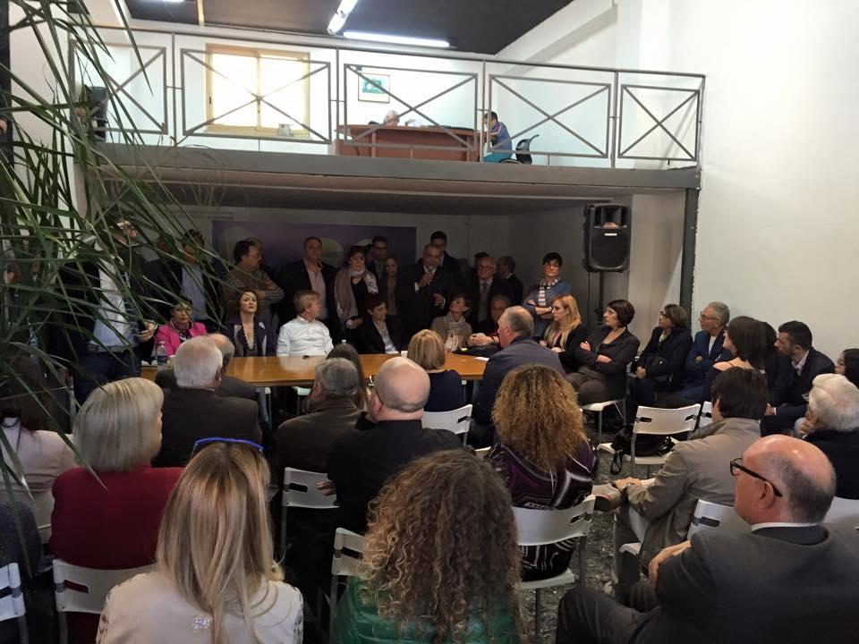 Inaugurato il comitato elettorale Firetto sindaco
