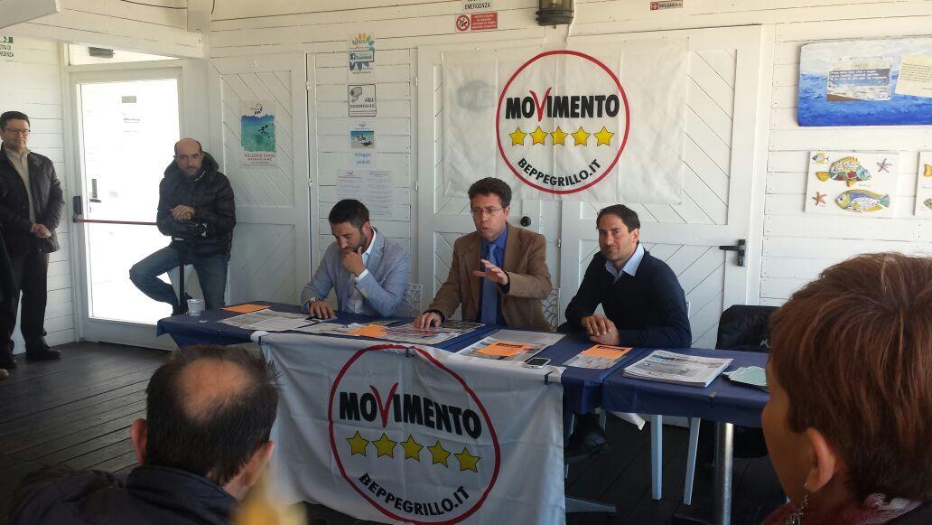 M5Stelle, Ufficializzata la candidatura di Emanuele Dalli Cardillo alla presenza di Giancarlo Cancelleri e Matteo Mangiacavallo