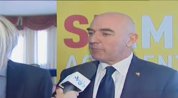 Marco Marcolin ha ufficializzato la sua candidatura a sindaco di Agrigento alla presenza di Attaguile