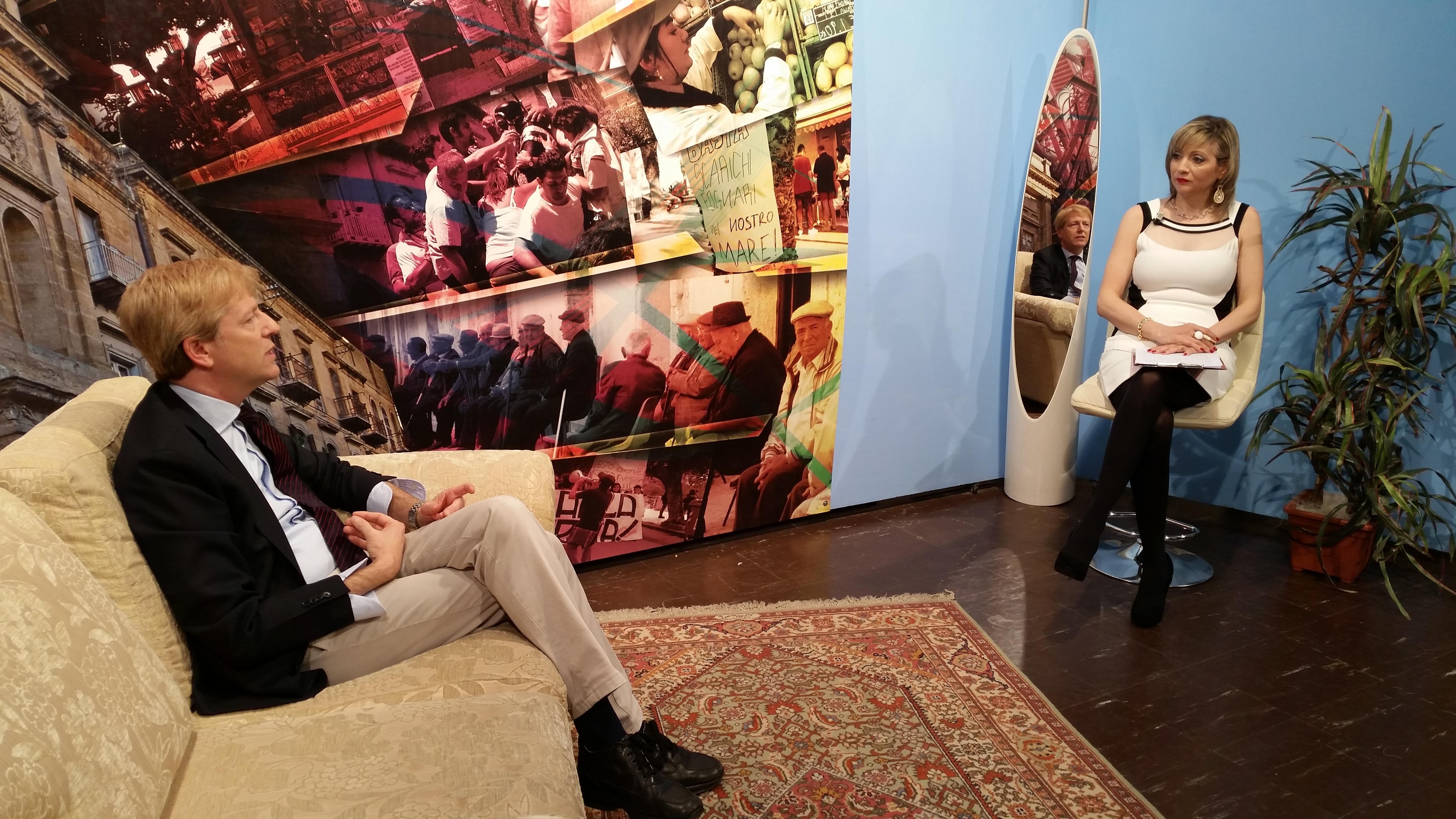 Speciale Interviste, ospite  Lillo Firetto