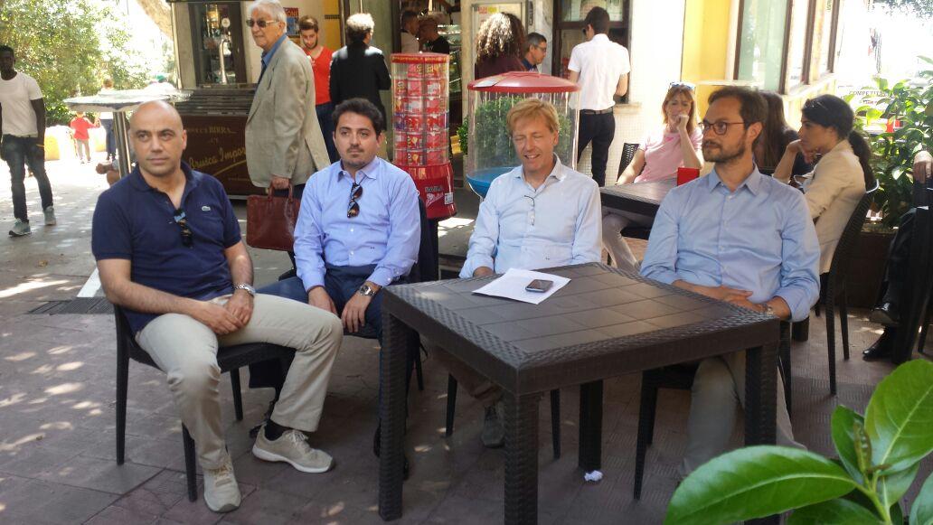 Amico, Biondi e Fontana i tre assessori designati da Lillo Firetto