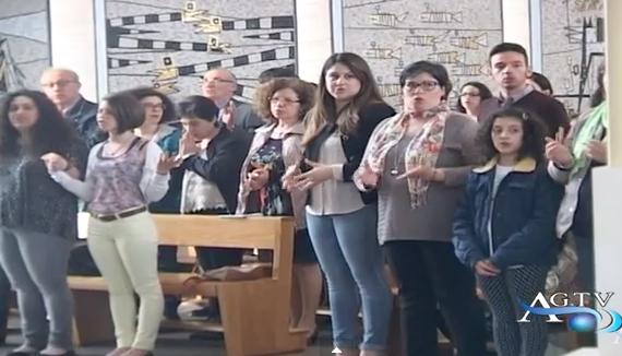 MESSA IN LIS NELLA CHIESA SAN GREGORIO