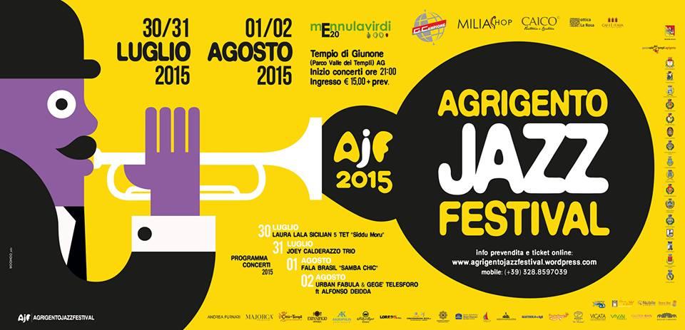 """TUTTO PRONTO PER """"Agrigento Jazz Festival"""""""