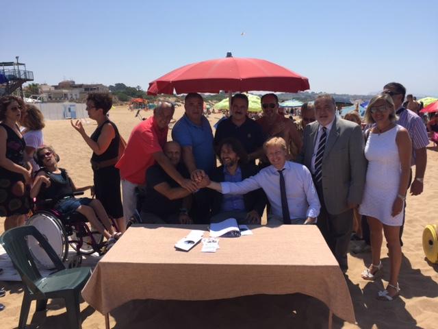 San Leone, spiaggia accessibile ai disabili