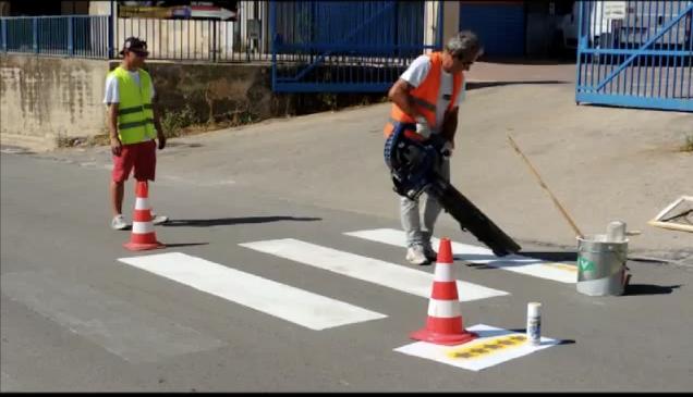 Le strisce pedonali della discordia, M5S VS Amministrazione comunale di Agrigento