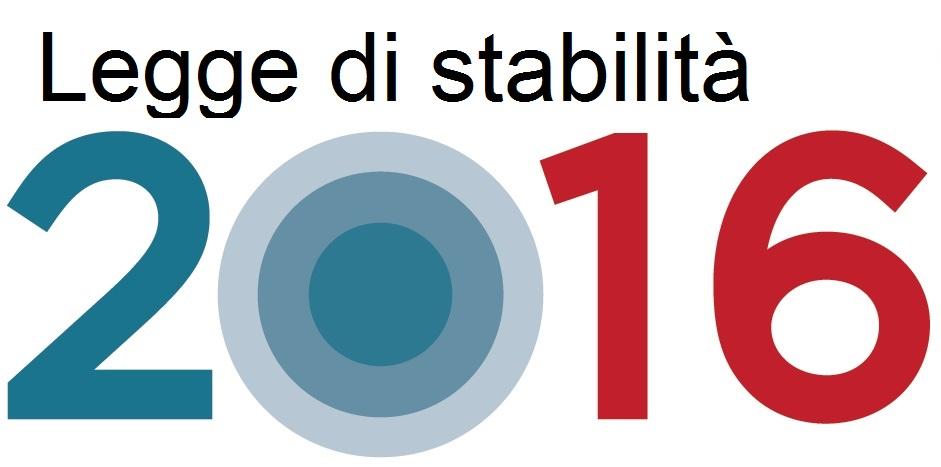 LEGGE DI STABILITA', BUONE NOTIZIE ANCHE PER LA SICILIA