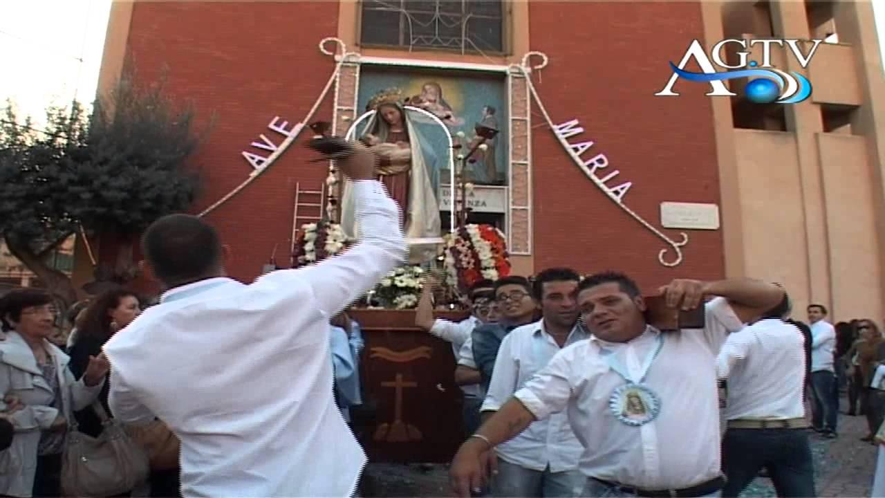FESTA DELLA Madonna Beata Maria Vergine della Divina Provvidenza ad Agrigento