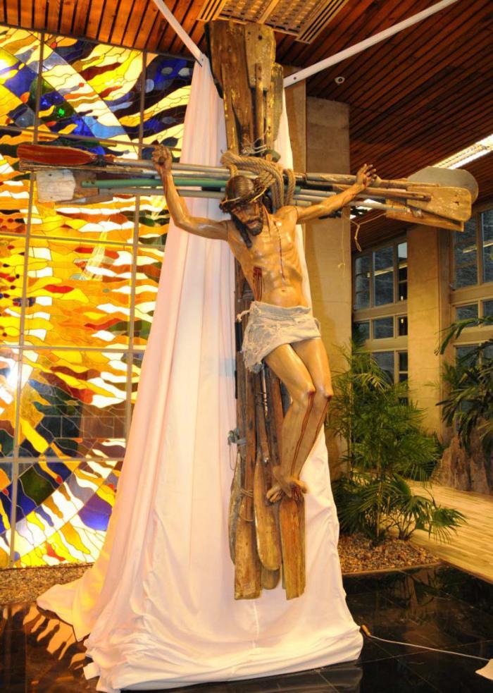 La Croce 'Milagro' a Lampedusa