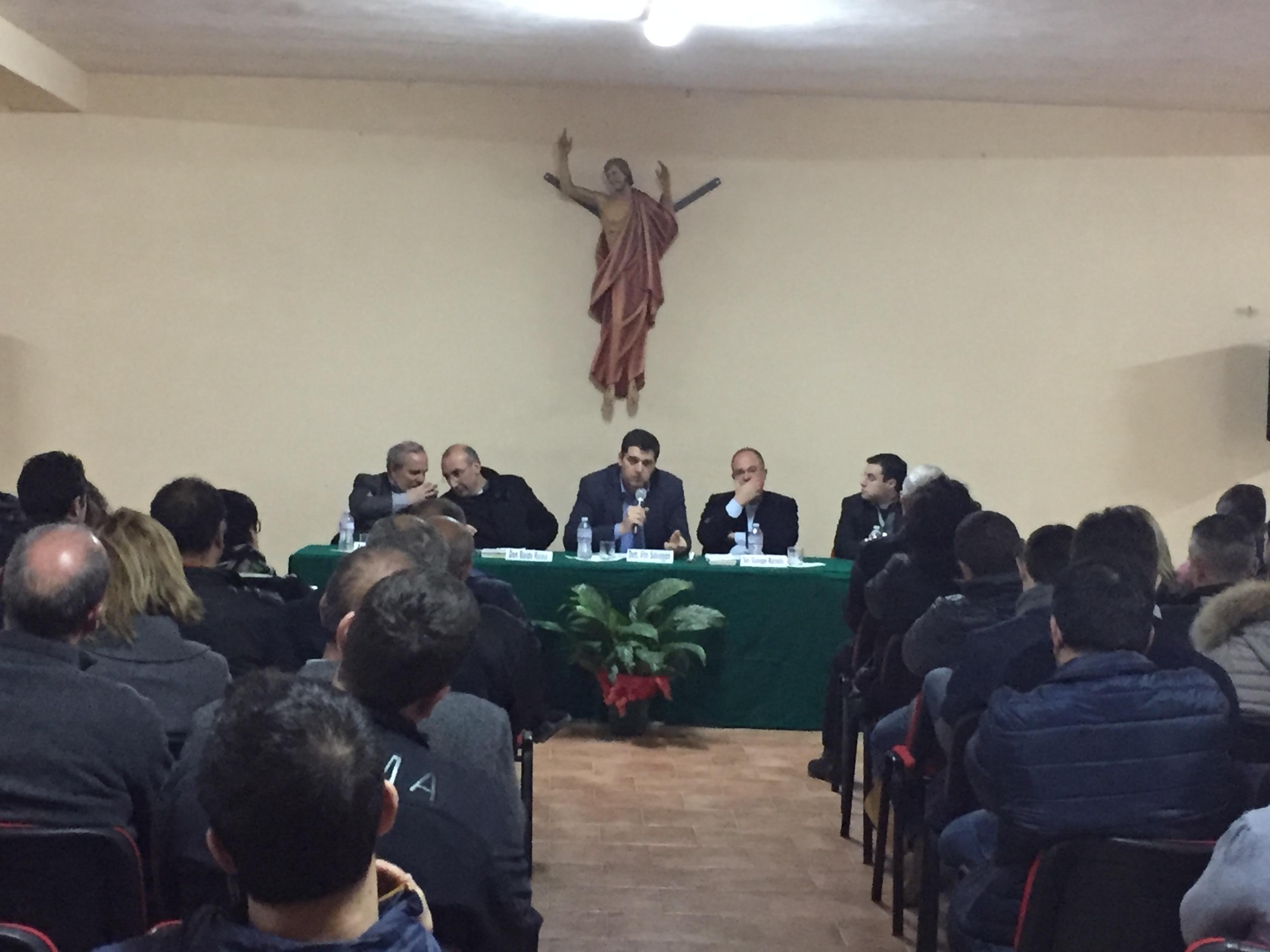 SICULIANA, UN CONVEGNO SULLE TRIVELLE IN RELAZIONE ALL'ENCICLICA DI PAPA FRANCESCO