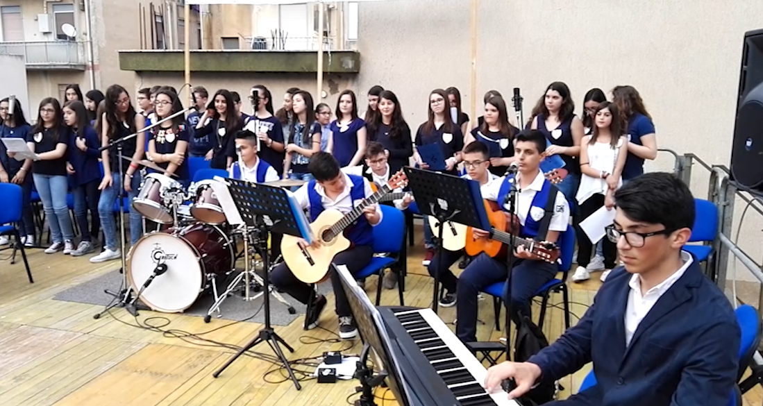 Settimana della musica, concerto della scuola Capuana