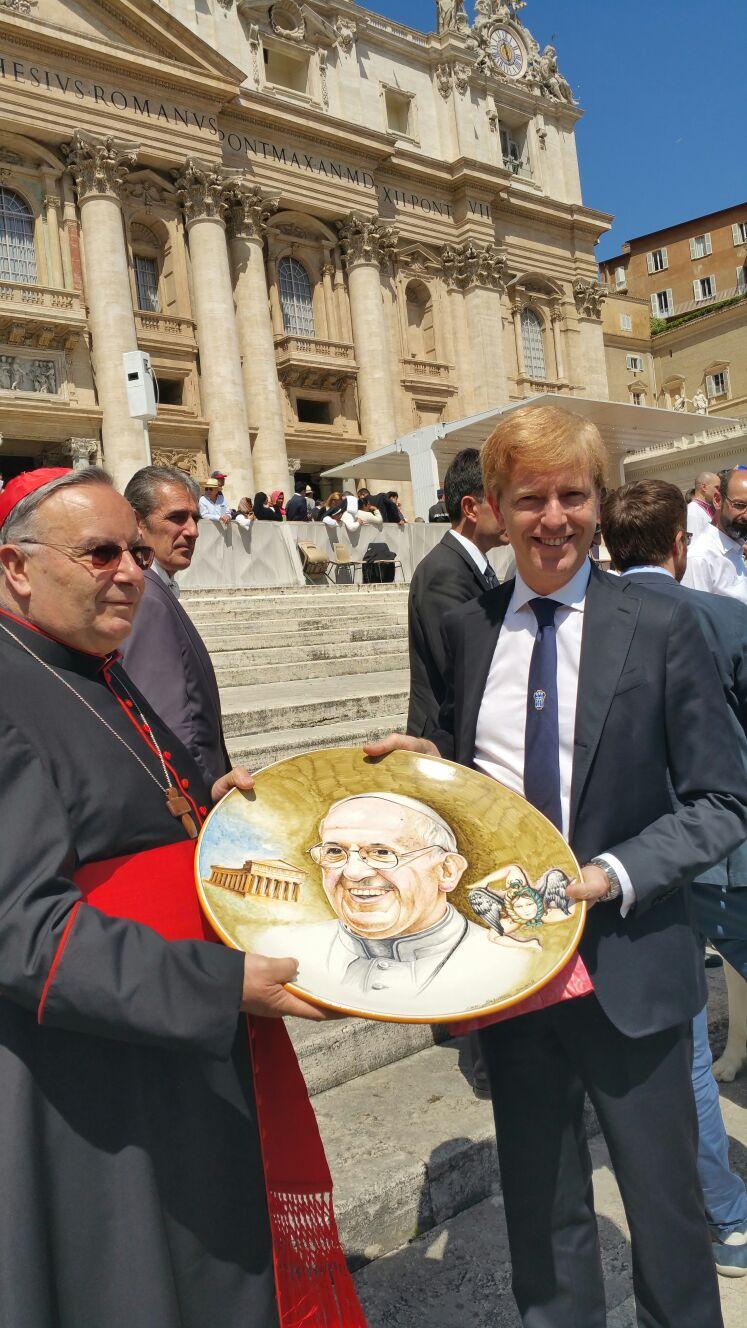 Montenegro e Firetto a Roma