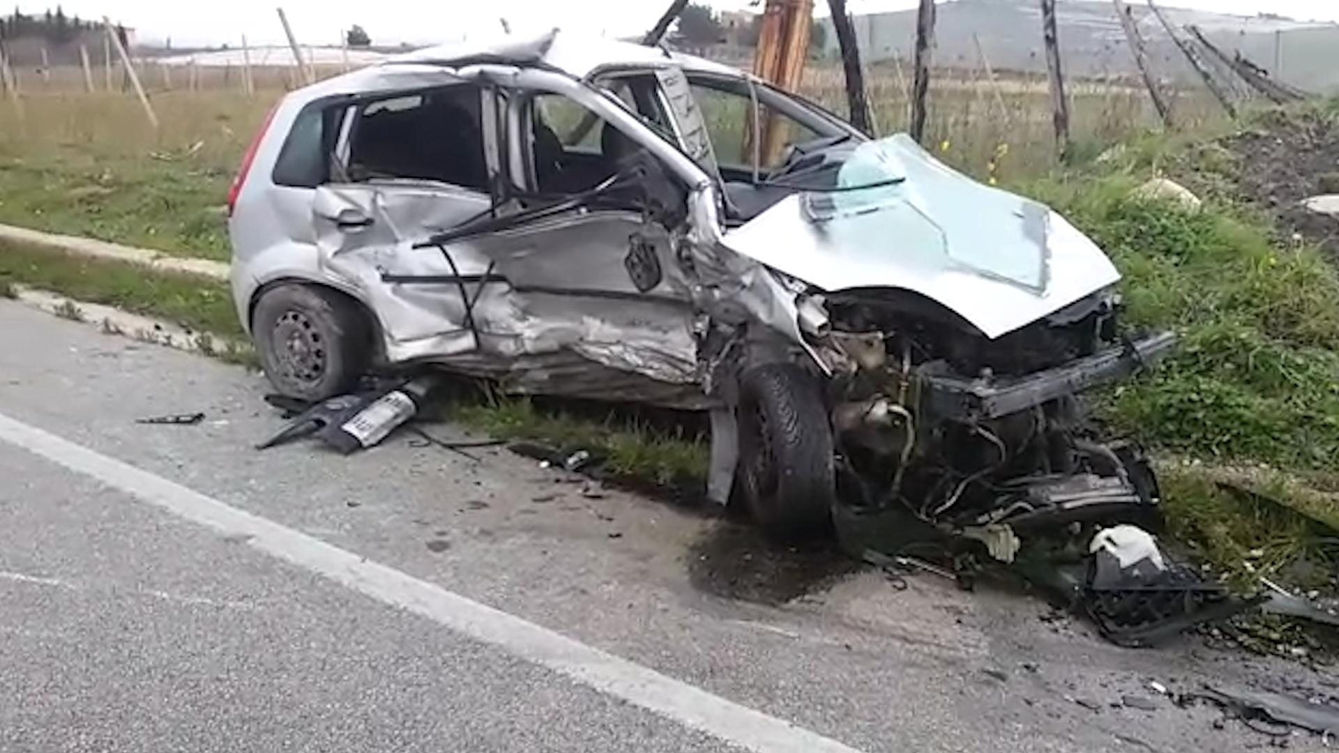 Gravissimo incidente stradale sulla statale 640