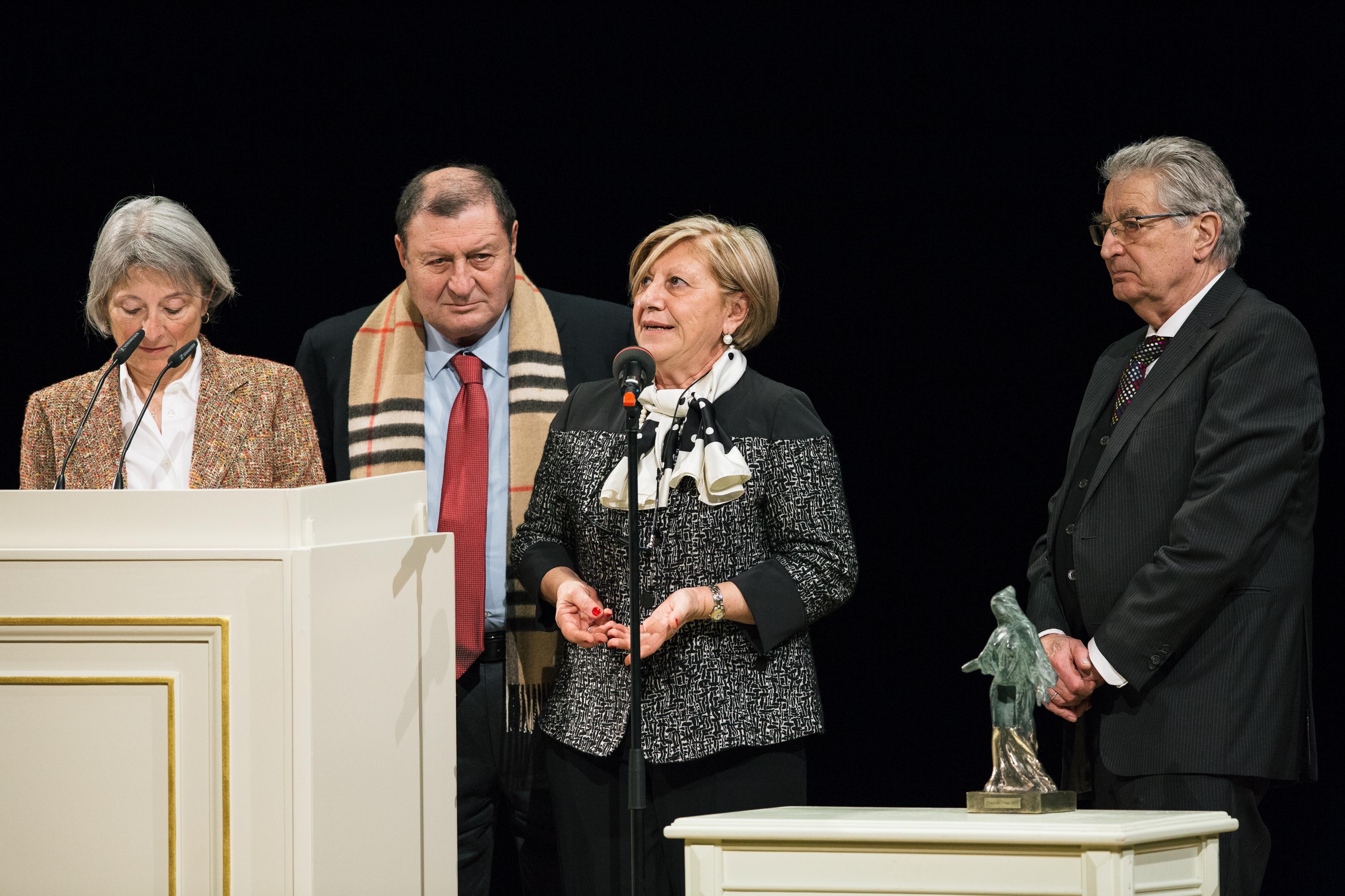 Il cuore degli agrigentini al premio per la pace di Dresda: riconoscimento speciale per i coniugi Gelardi