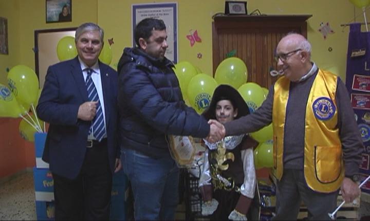 """Agrigento. Carnevale solidale del Lions Club """"Zolfare"""" a Villaseta"""