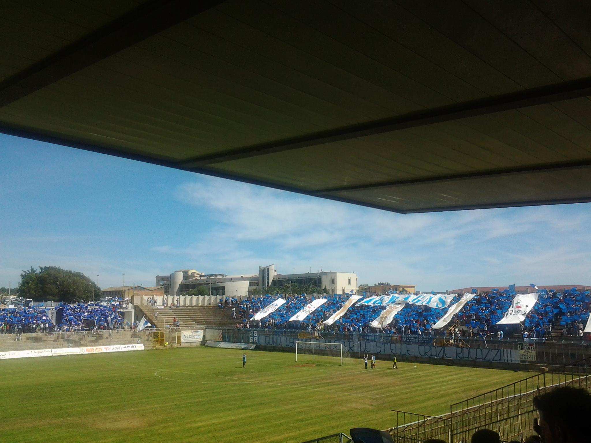 """Calcio. Salvezza storica per l'Akragas che resta in """"C"""""""
