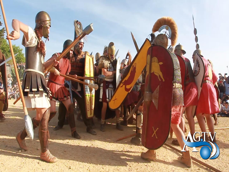 Agrigento. Successo di pubblico nella Valle dei Templi per la rievocazione dell'assedio di Akragas
