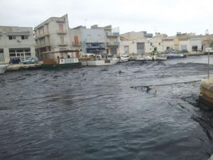 Marrobbio a Lampedusa. Ingenti danni ai pescherecci: il sindaco Nicolini chiede aiuto