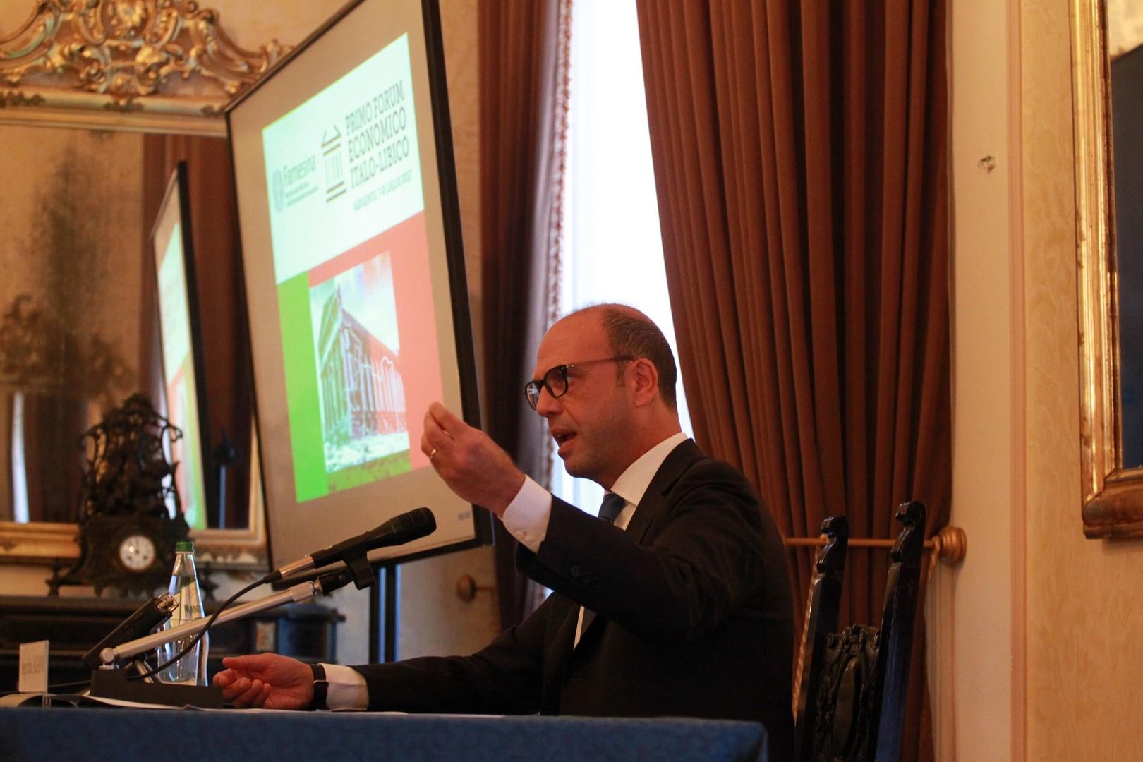 Agrigento. Il ministro Alfano presenta il pimo forum economico Italo – Libico