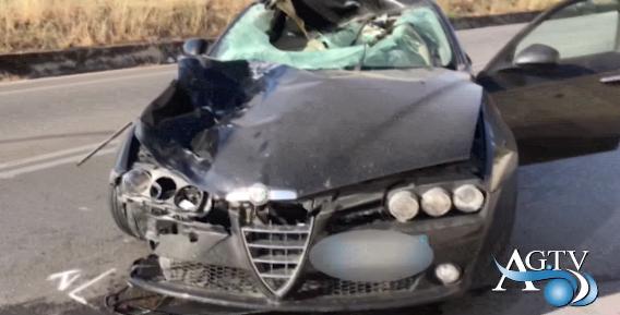 Tragico incidente sulla ss189, pedone ucciso da auto in corsa