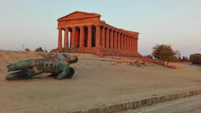 Cultura. La prima alba con l'Iliade ai Templi di Agrigento