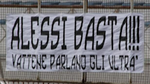 "Akragas. Nuovo chiaro messaggio degli ultras ""Silvio Basta"" News Agrigentotv"