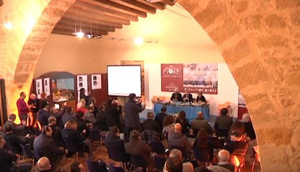 Presentazione ufficiale oggi ad Agrigento dell'ex Sagra, oggi festa, del Mandorlo in Fiore giunta alla 73^ edizione. News Agrigentotv