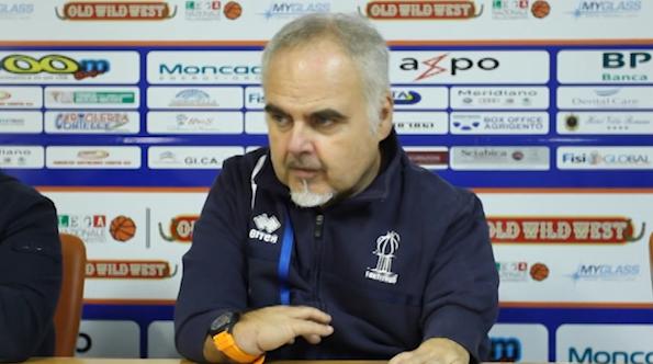 Franco Ciani parla dopo la partita contro il Siena News Agrigentotv