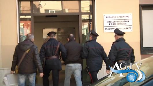 Altri particolari dell'operazione antimafia Montagna News Agrigentotv