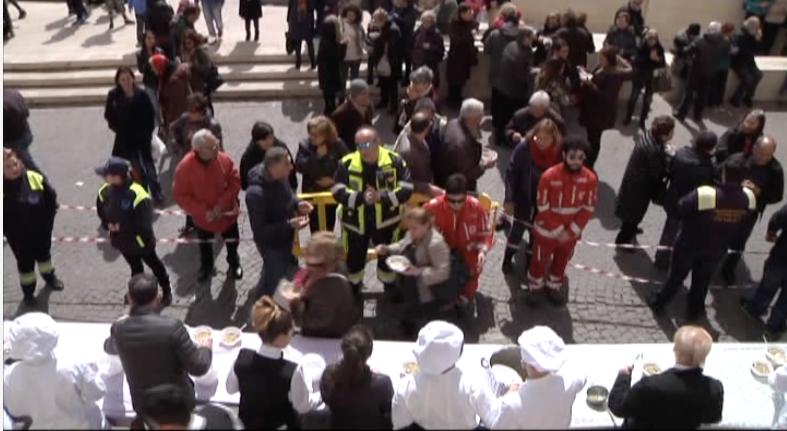 Ad Agrigento si rinnova la tradizione della ministrata per San Giuseppe.